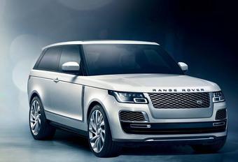 RIP: Range Rover SV Coupé gaat toch niet in productie #1