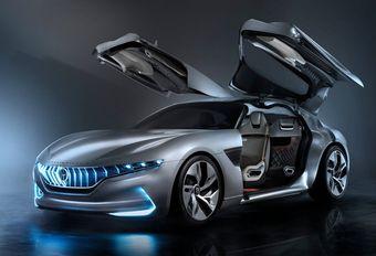 Gims 2018 – Pininfarina HK GT Concept: hyperlimousine #1