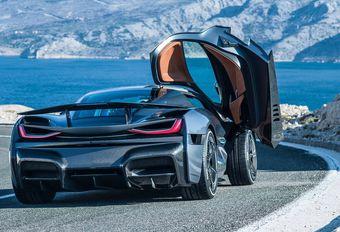 Porsche neemt aandeel van 10 procent in Rimac #1
