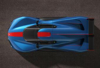 Pininfarina H2 Speed is een waterstofbom #1