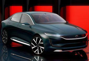 Gims 2018 – Tata EVision Concept : la berline électrique indienne #1
