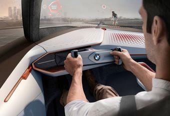BMW houdt vast aan pedalen en stuur #1