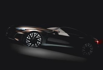 Audi E-Tron GT is Porsche Mission E met ringen #1