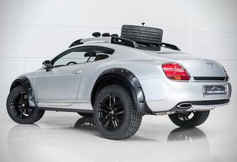 Bentley Bentayga lijkt een watje naast deze Continental GT Off Road #1