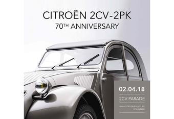 Autoworld viert 70 jaar Citroën 2PK #1