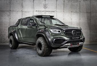 Carlex Design geeft je twee smaakjes Mercedes X-Klasse-tuning #1