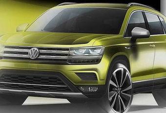 Volkswagen Tarek (of Tharu): nieuwe SUV #1