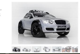 Une Bentley Continental GT pas comme les autres #1