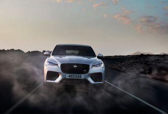 NYIAS 2018  - Le Jaguar F-Pace en mode SVR #1