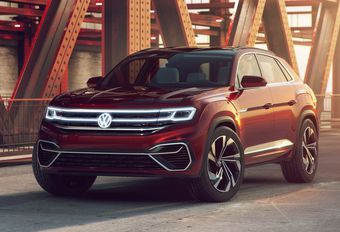 NYIAS 2018 - Volkswagen Atlas Cross Sport Concept : 5 places #1