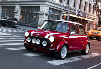 Back to the future met de Classic Mini Electric #1