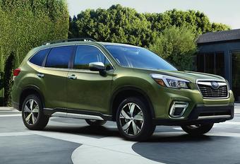 Nieuwe Subaru Forester blijft een koppige cross-over #1