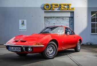 L'Opel GT a 50 ans #1