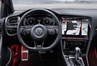 Volkswagen Golf 8 : l'intérieur de la R Touch Concept ? #1