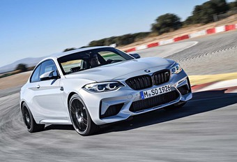 BMW M2 gaat streep straffer als Competition #1