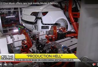 Tesla Model 3 : un bref aperçu des lignes de production #1