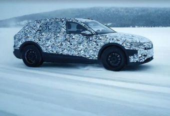 VIDÉO - Audi e-tron en test sur la neige #1