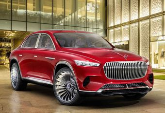 Mercedes-Maybach Ultimate Luxury: limousine-SUV #1