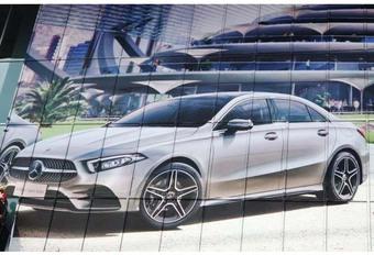 Gelekt: Mercedes A-Klasse Sport Sedan #1