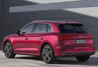 Verlengde Audi Q5L voor China #1