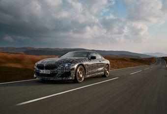 BMW Série 8 : tests dynamiques au Pays de Galles #1