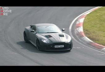 VIDÉO - Aston Martin DBS Superleggera : surprise sur le Nürburgring #1