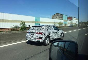 Audi : le futur Q3 en balade sur les autoroutes belges #1