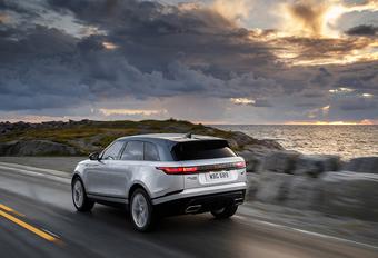 Range Rover Velar 2019: technische update #1