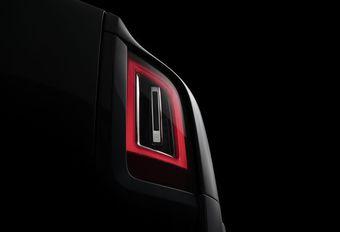 Rolls-Royce Cullinan : compte à rebours #1