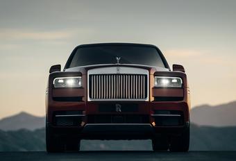 Rolls-Royce Cullinan is (g)een SUV #1