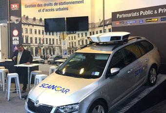 Parking à Charleroi : bingo pour la voiture scanner ! #1