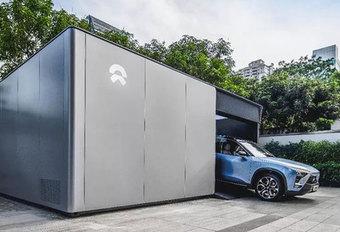 Nio bouwt netwerk van batterijwisselstations #1
