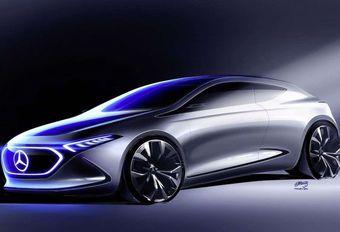 Mercedes bouwt compacte elektrische berline in Frankrijk #1