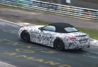 BMW Z4: 3 minuten lange spionagevideo #1