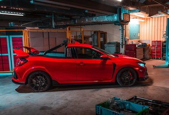 Honda Civic Type R Pick-Up lonkt naar de Nordschleife #1