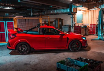INSOLITE – VIDEO – Une Honda Civic Type-R pick-up ! #1