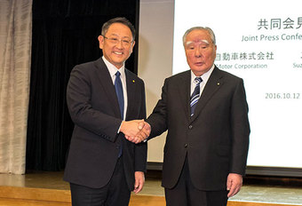 Toyota & Suzuki gaan voor diepere samenwerking #1