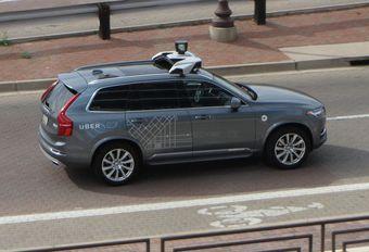 Uber : fin des essais de voitures autonomes  #1