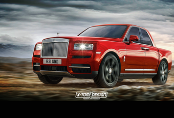 Rolls-Royce Cullinan werkt als pick-up #1