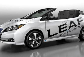 Nissan Leaf : une « Targa » de célébration #1