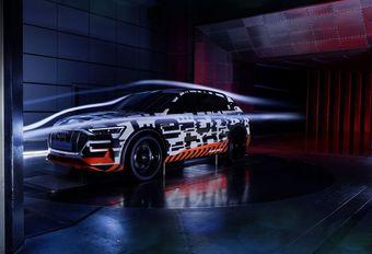Audi e-tron : un proto ultra-aérodynamique  #1