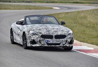 BMW Z4: camouflagefoto's en officiële info #1