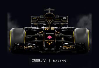 Rich Energy maakt roze Force India helemaal zwart #1