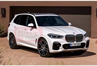 Nieuwe BMW X5 verschijnt te vroeg #1