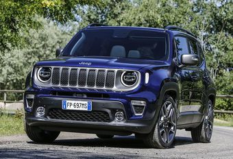 Jeep Renegade : rafraîchissement #1