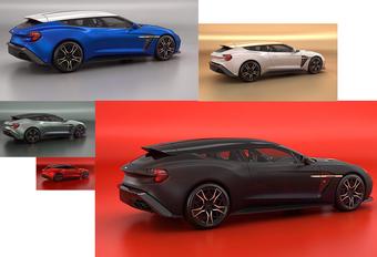 Aston Martin United Colours of Zagato Shooting Brake #1