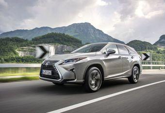 Lexus RX 450hL: zeven plaatsen en hybride #1