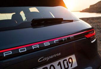 Porsche : le Cayenne Coupé se confirme #1