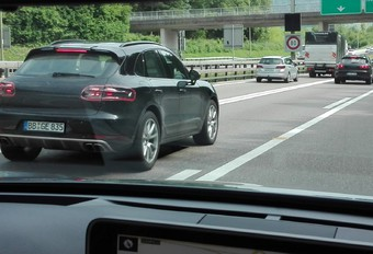 La Porsche Macan sur le point de s'offrir un lifting #1