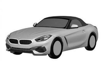 BMW Z4: patenttekeningen uitgelekt #1